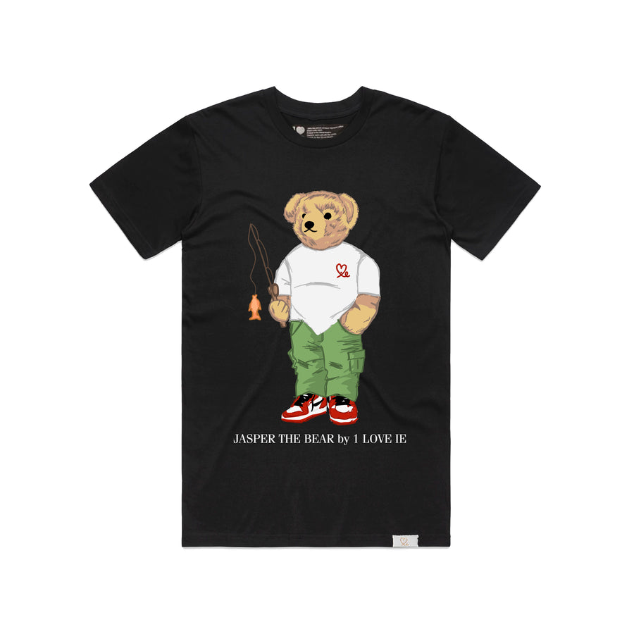 Jasper The Bear Fishing Black