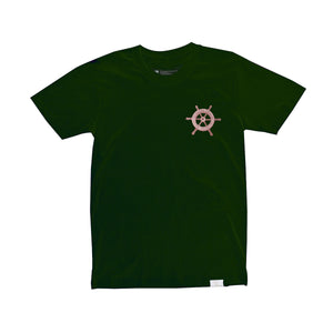 Navigators Through Uncharted Waters (Forest Green / Tan)