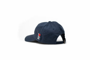 1LoveIE Signature Dad Hat (Navy / White)