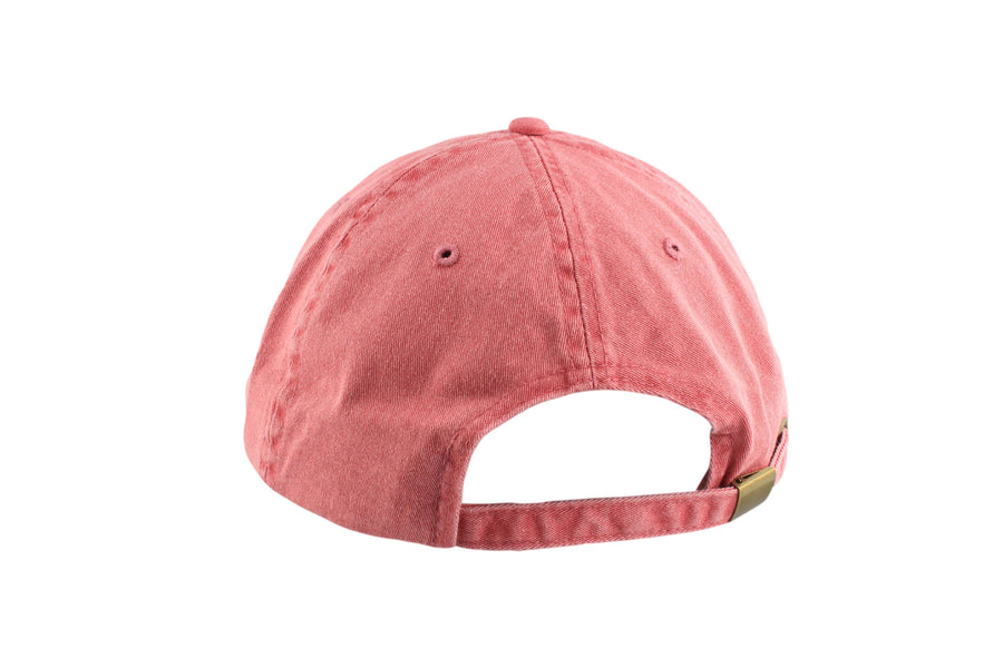 Signature Dad Hat (Red Robin/White)