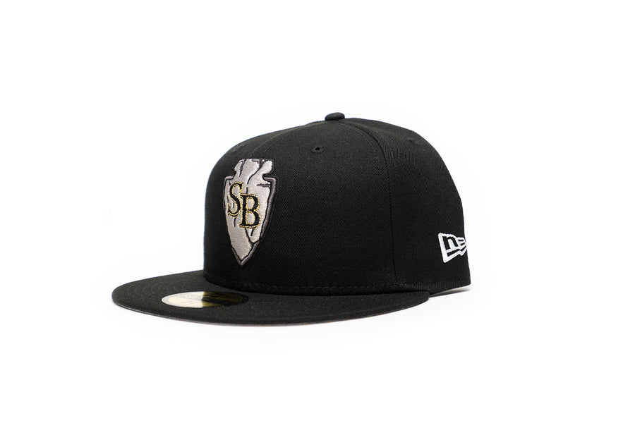 Limited Black & Gold 1LoveIE SB Arrowhead New Era 59FIFTY Fitted Cap