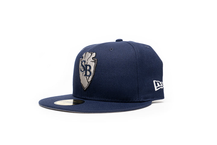 Limited Navy & Silver 1LoveIE SB Arrowhead New Era 59FIFTY Fitted Cap