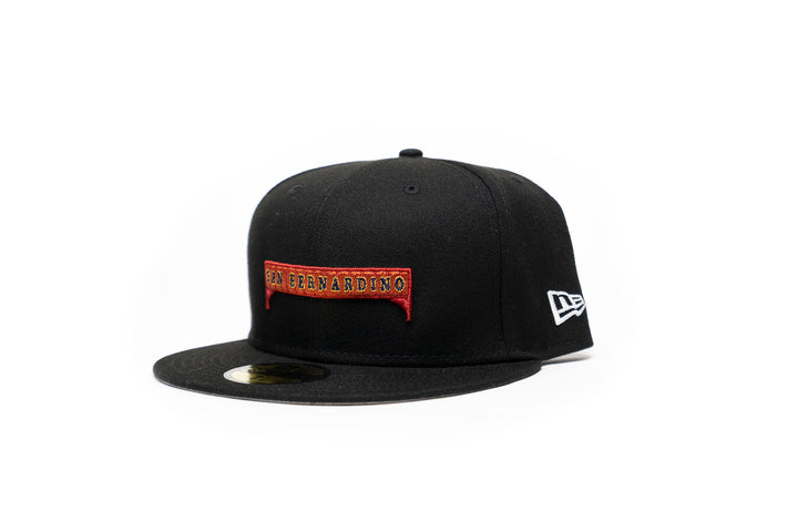 Limited Black 1LoveIE San Bernardino Bridge New Era 59FIFTY Fitted Cap