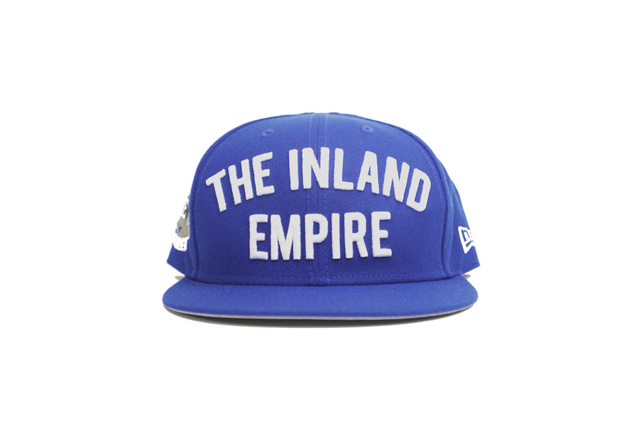 "Limited Royal Blue 1LoveIE ""The Inland Empire"" New Era 59Fifty Fitted Hat"