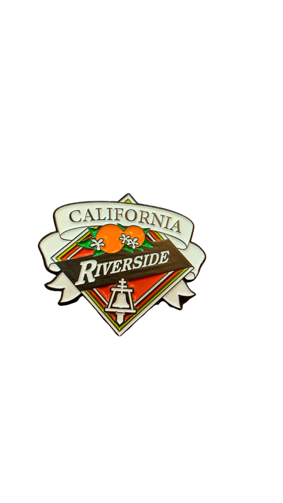 Riverside City Crest Pin