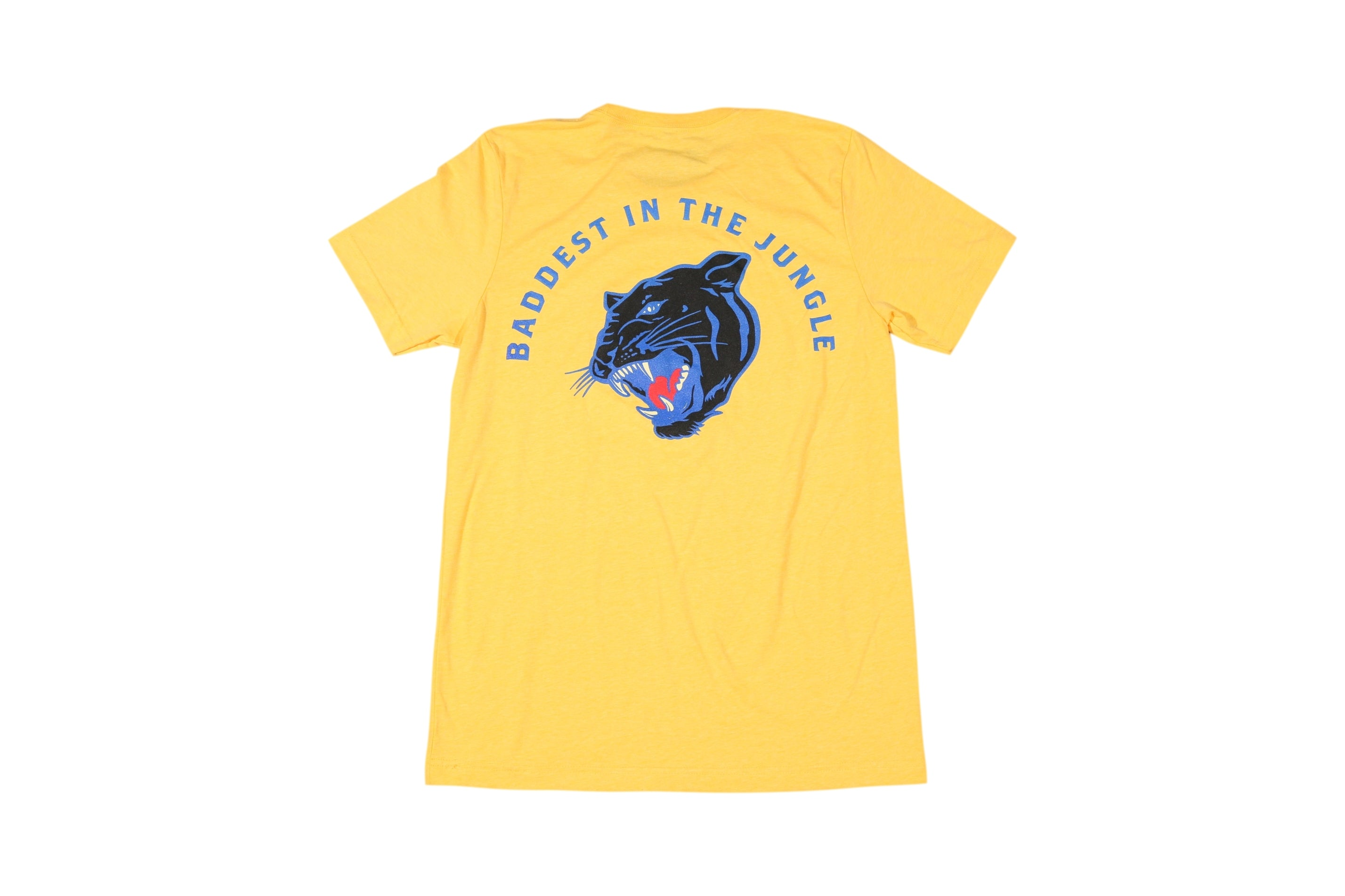 Baddest In The Jungle Shirt (Golden Yellow)