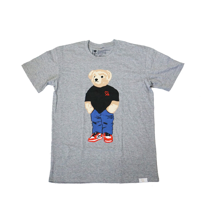 Youth Jasper The Bear Tshirt Grey