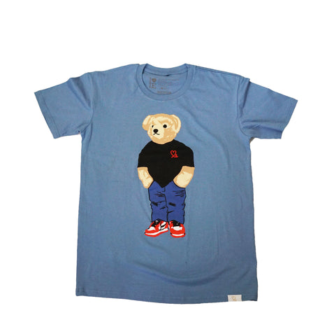 Jasper The Bear Tshirt Baby Blue