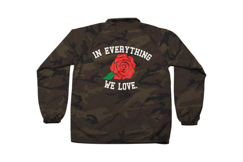 In Everything We Love Coaches Jacket