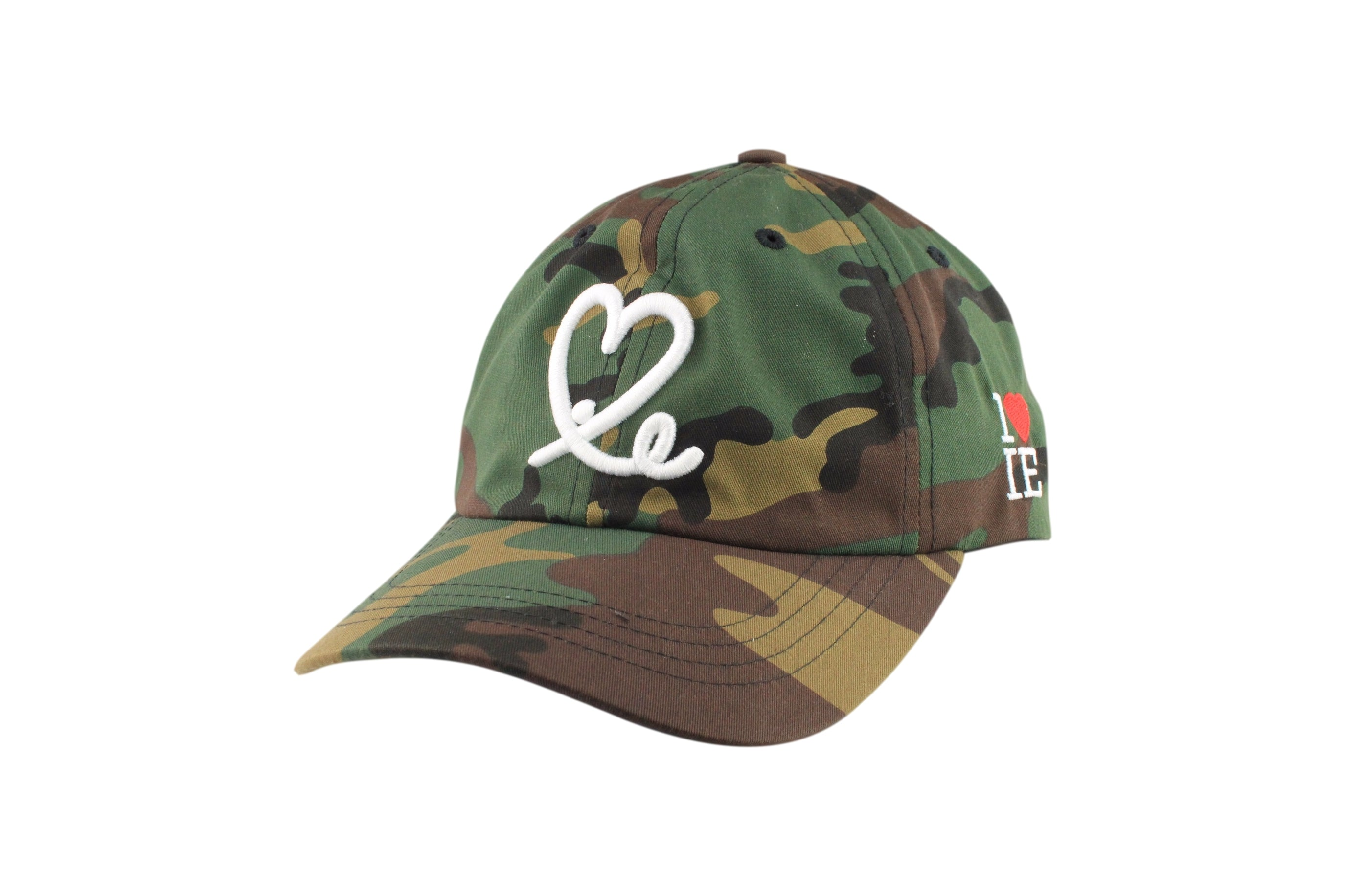 47f88105795 Camo Dad Hat – 1LoveIE