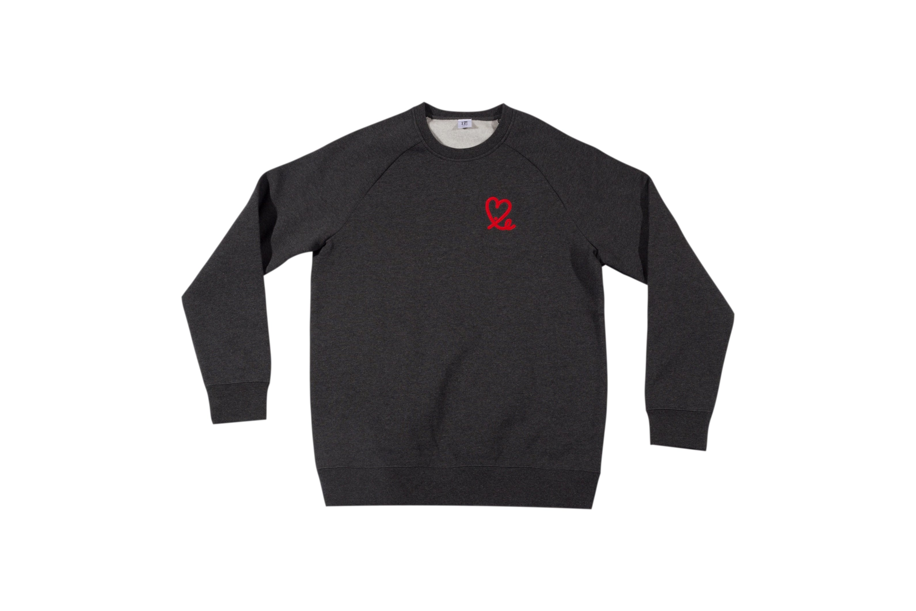 Charcoal Grey Crew Neck Sweatshirt
