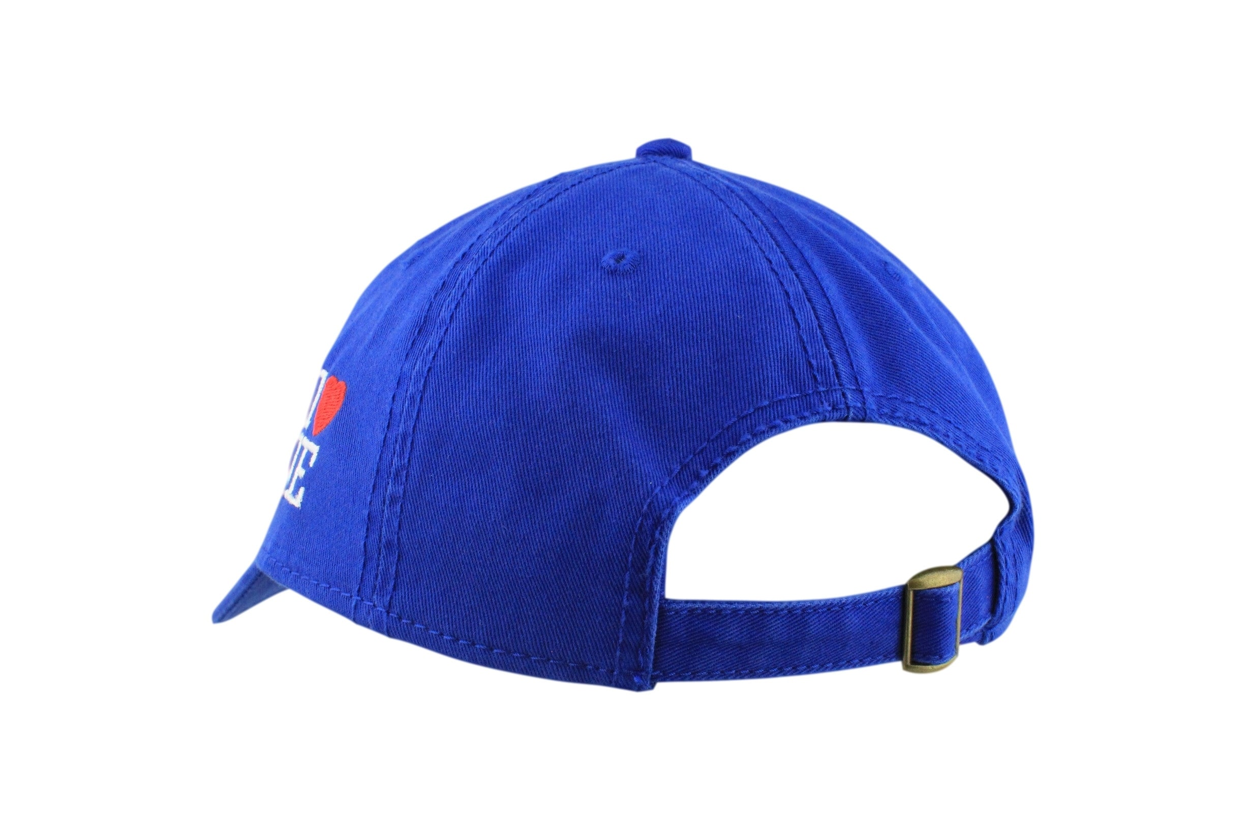 1LoveIE Signature Dad Hat (Royal/White)