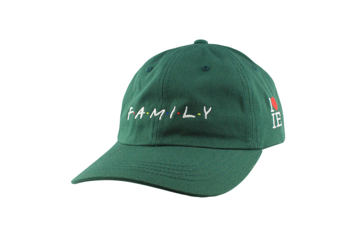 F A M I L Y Dad Hat (Green / White)