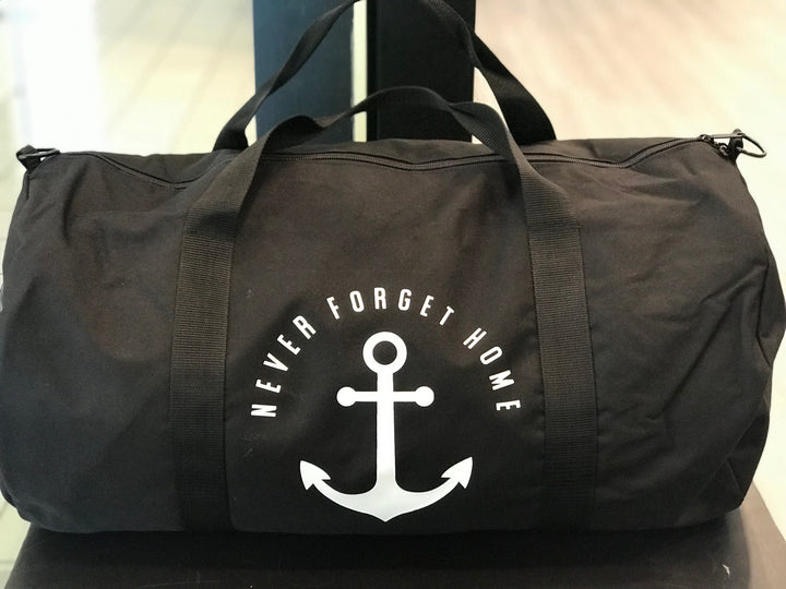 Black Never Forget Home Duffel Bag