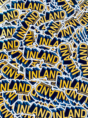 Super Inland Empire 4Inch Decal Sticker