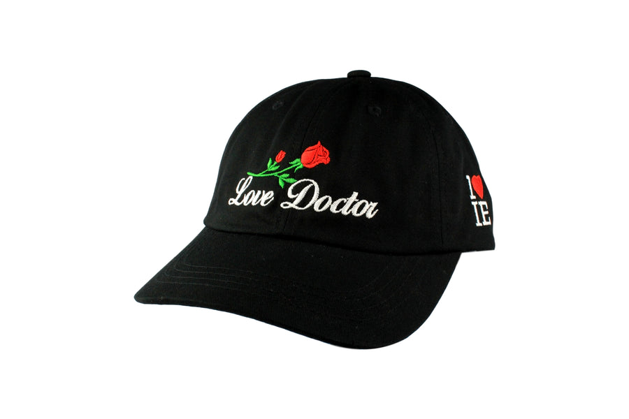 Love Doctor Dad Hat (Black / White)