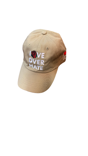 Love Over Hate Dad Hat