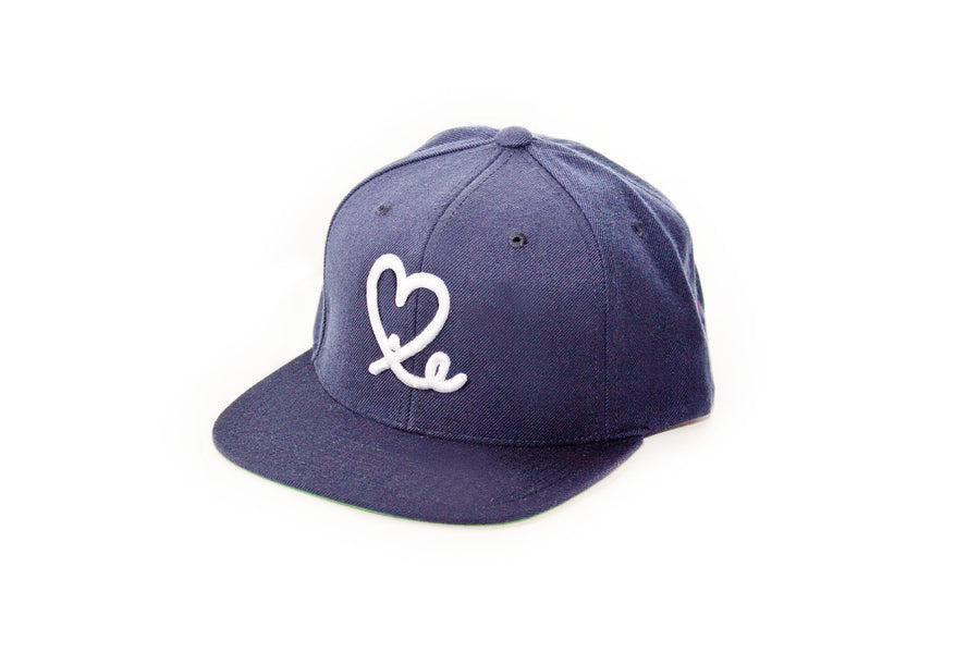 1LoveIE Snapback (Dark Navy Blue /White)