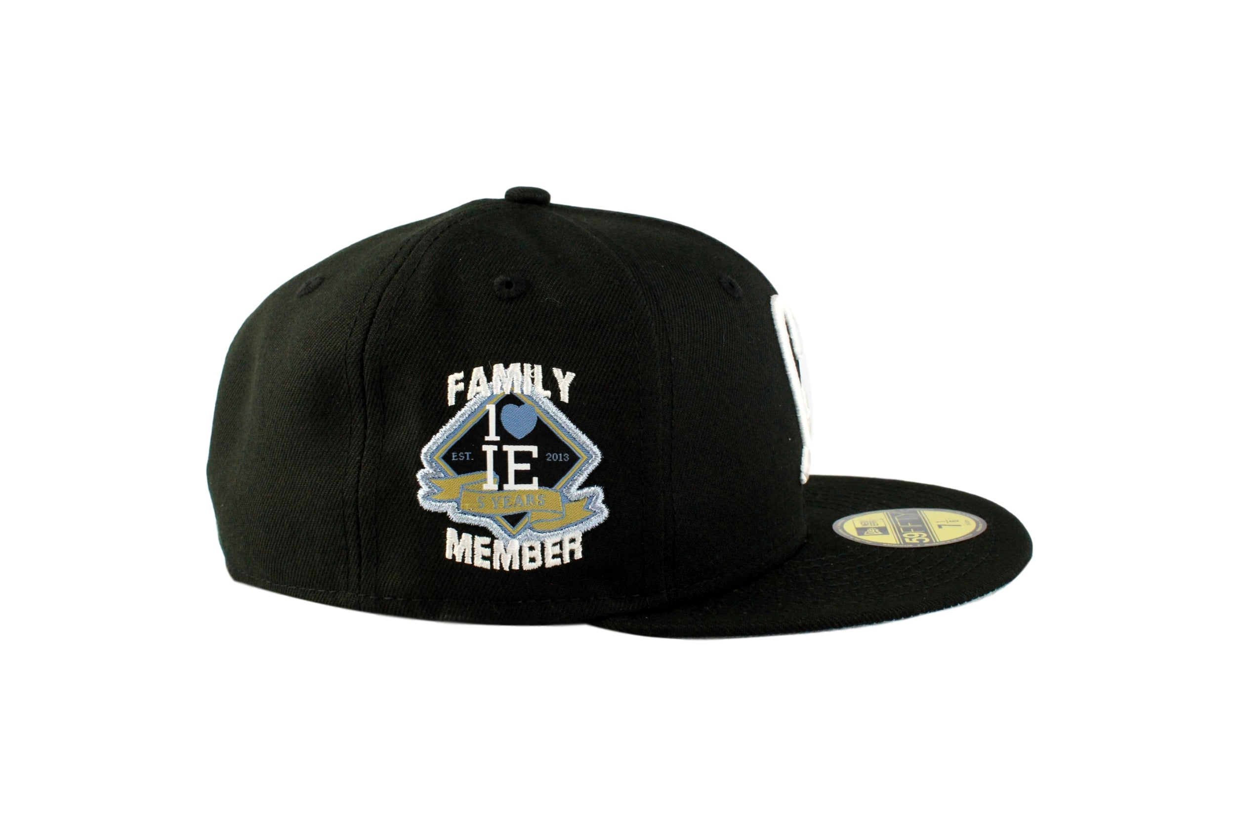 a0b38a5f3a0 Limited Black   White 1LoveIE New Era 59FIFTY Fitted Cap