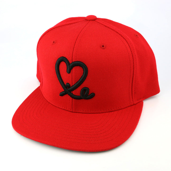 Kids 1LoveIE Snap Back (Red/Black)