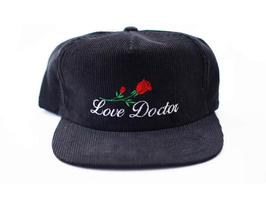 Love Doctor Corduroy Snapback (Grey Blue)