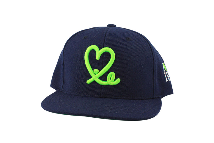 1LoveIE Snapback (Navy Blue / Sea Green)