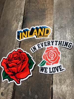4Inch Die Cut Vinyl Sticker Pack (3)