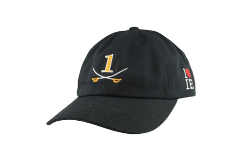 1LoveIE Signature Dad Hat (Black / Gold)