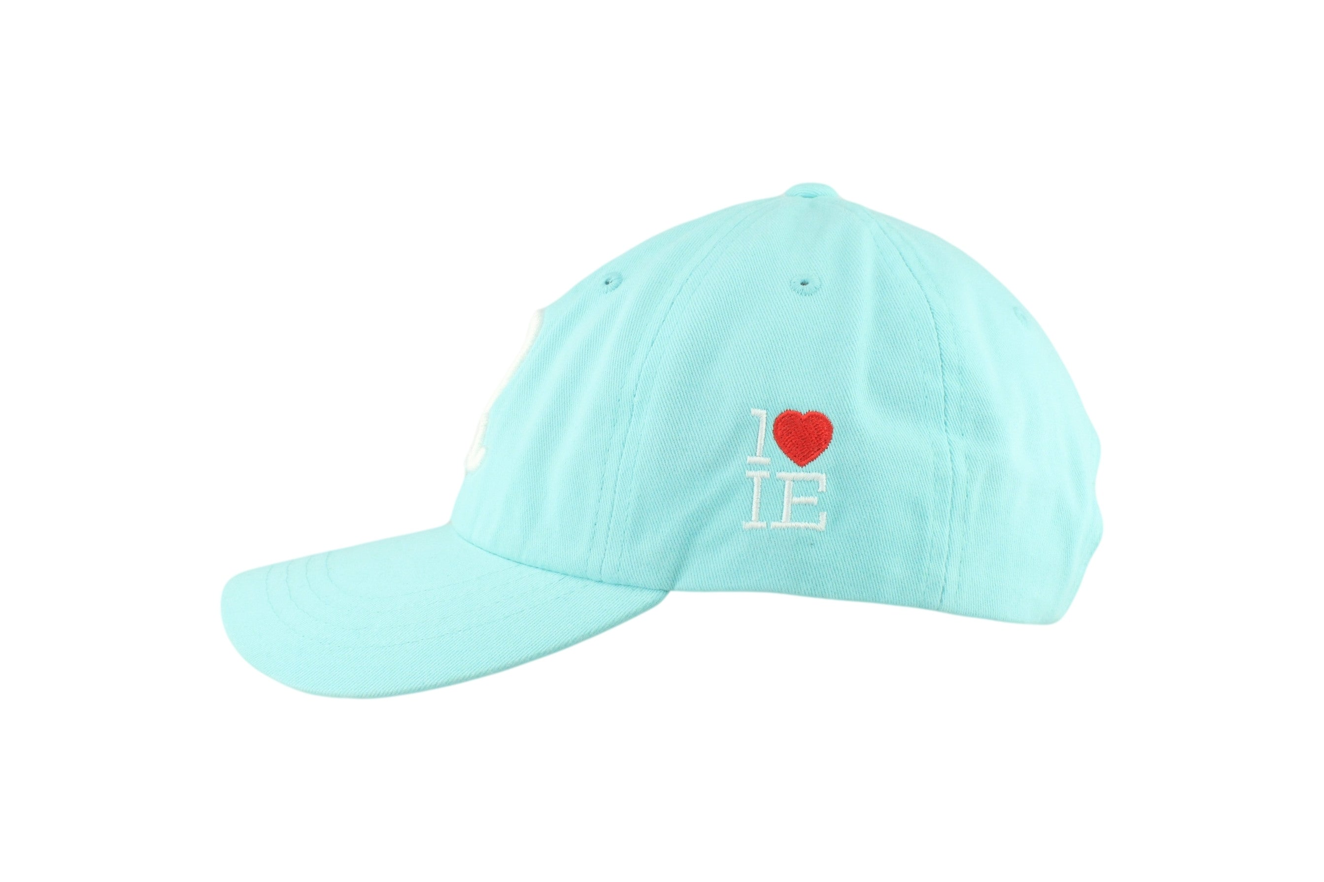 1LoveIE Signature Dad Hat (Teal/White)