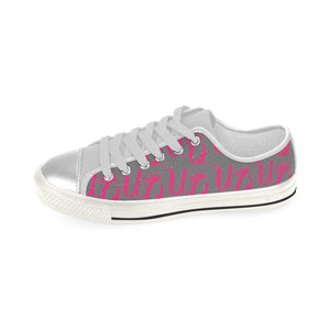Unique Queens Women's Canvas Shoes (Model 018) (Made In USA)