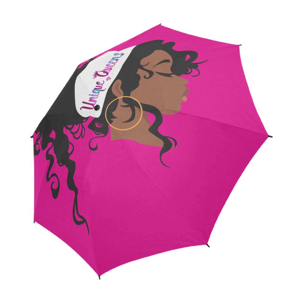 Unique Queens Semi-Automatic Foldable Umbrella (Model U05)