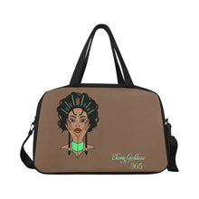Load image into Gallery viewer, Ebony Goddess Tote And Cross-body Travel Bag (Black) (Model 1671)
