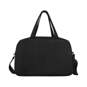 Fully Customizeable Weekender bag Tote And Cross-body Travel Bag (Black) (Model 1671)