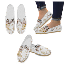 Load image into Gallery viewer, Casual Canvas Women's Shoes (Model 004) (Designs are mirrored)