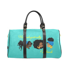 Load image into Gallery viewer, Unapologetically Black Travel Bag (Black) (Model1639)
