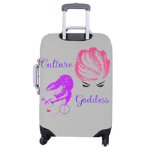 "Load image into Gallery viewer, Culture Goddess Luggage Cover (Large Size) (26""-28"")"