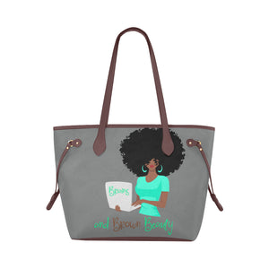 Brains and Brown Beauty Mint Classic Tote Bag (Model1661)