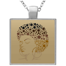 Load image into Gallery viewer, Skin of Gold Square Necklace