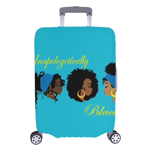 Unapologetically Black Luggage Cover (Large Size) (26