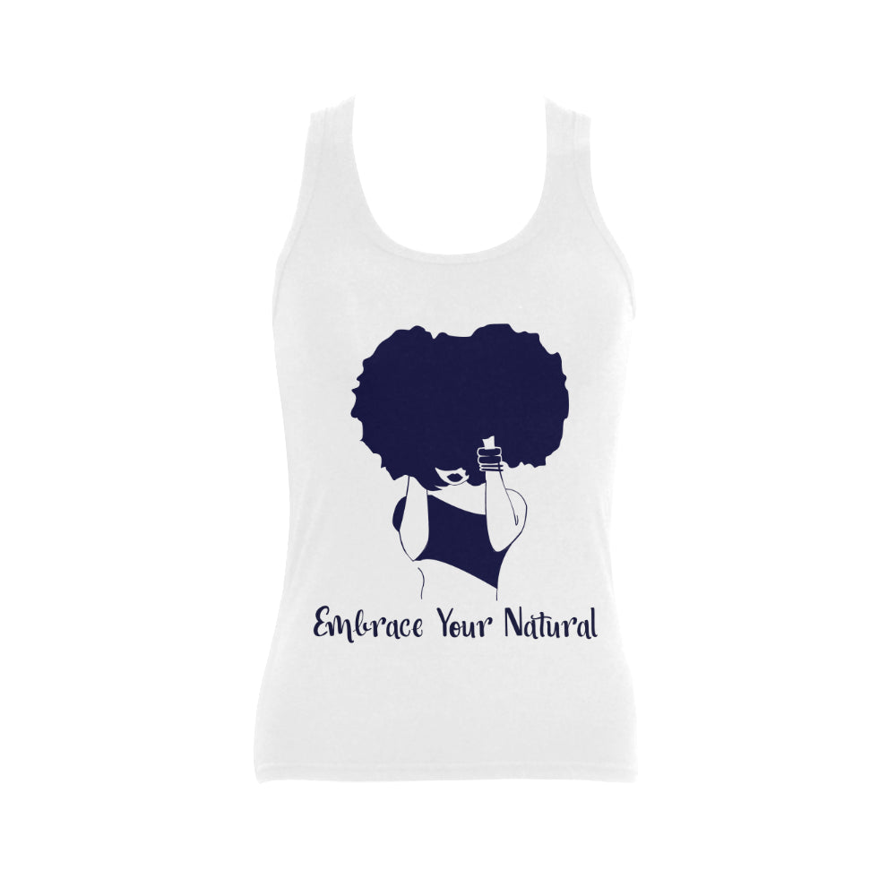 Embrace your Natural Women's Shoulder-Free Tank Top (Model T35)