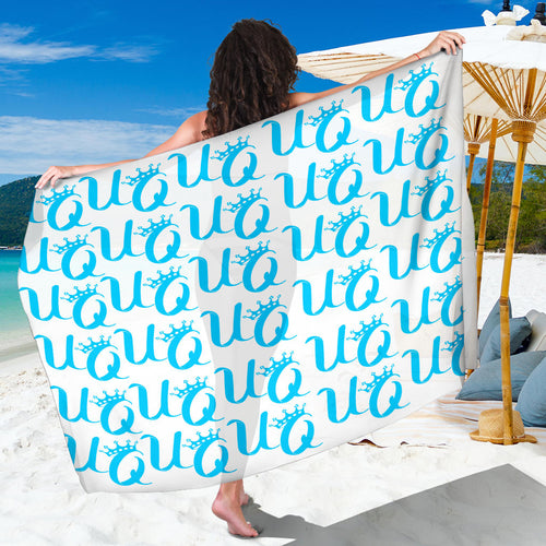 Unique Queen Aqua Sarong!
