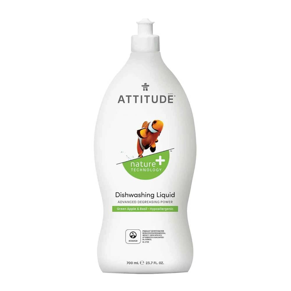 Attitude Afwasmiddel Green Apple
