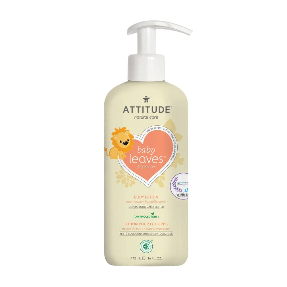 Attitude Baby Leaves Bodylotion