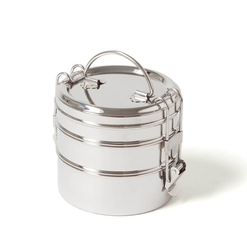 Eco Brotbox RVS Lunchbox Tiffin Swing+