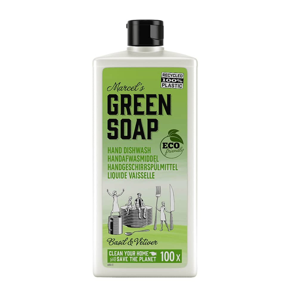 Marcels Green Soap Afwasmiddel Basilicum Vetiver