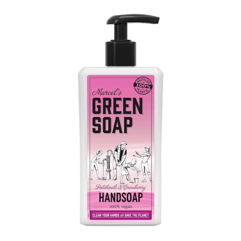 Marcels Green Soap Handzeep Patchouli Cranberry