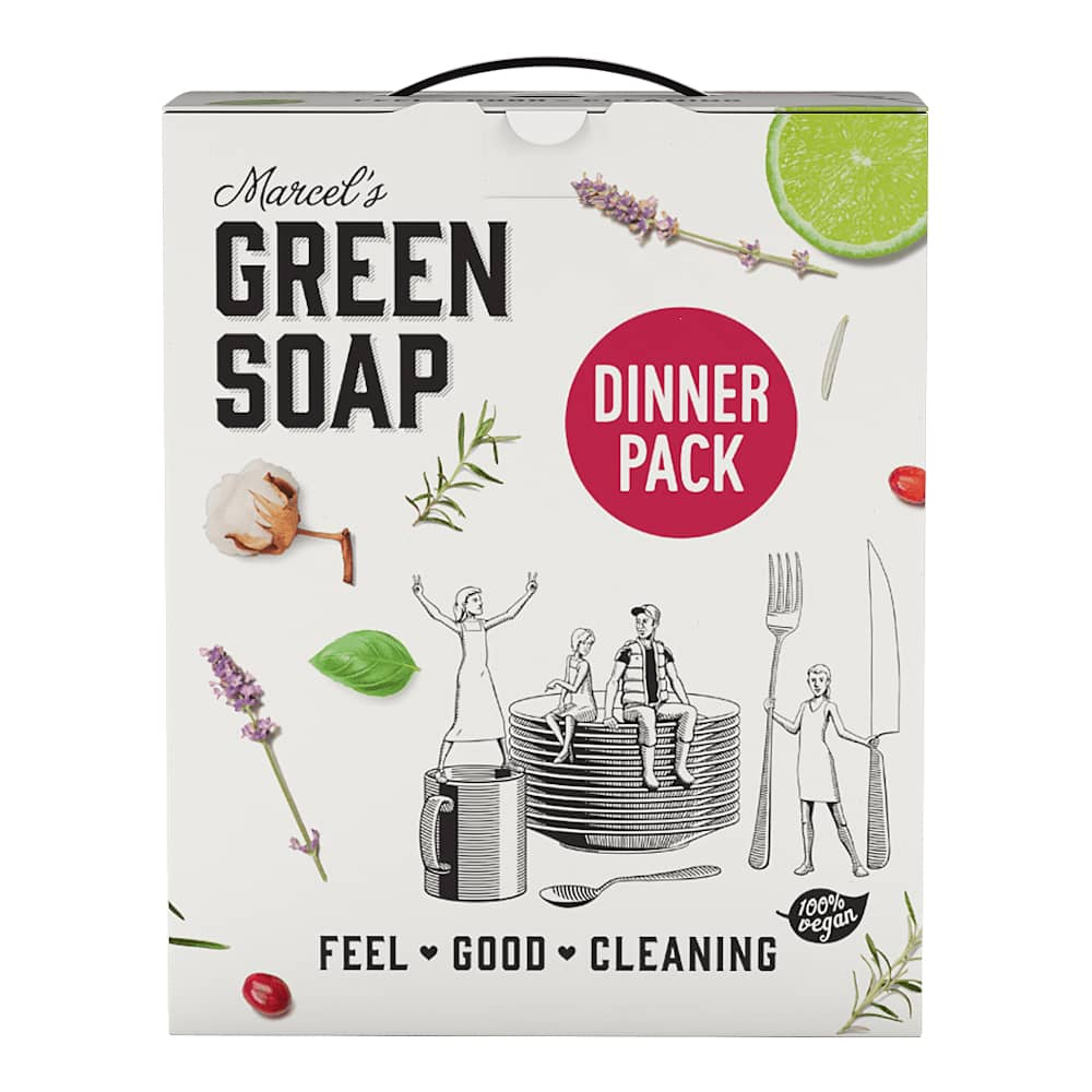 Marcels Green Soap Schoonmaakbox Dinner Pack
