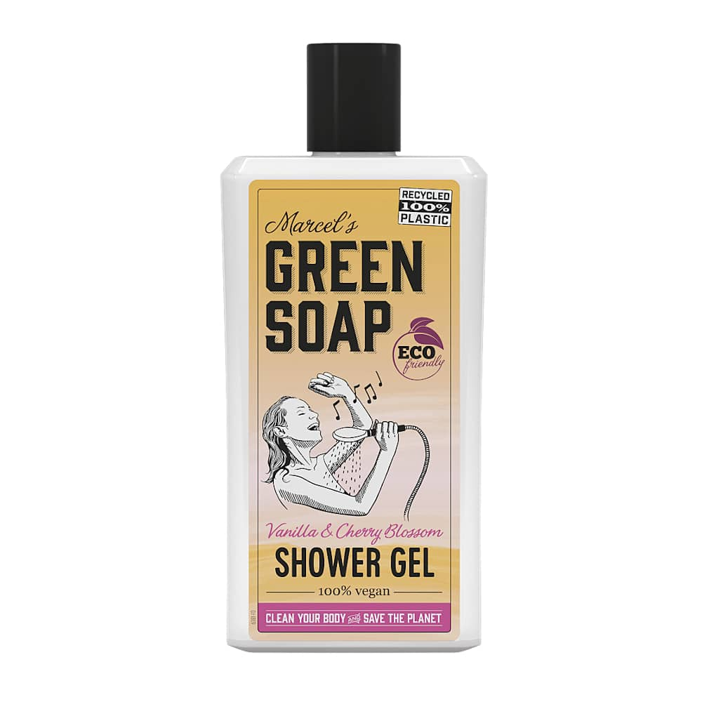 Marcels Green Soap Showergel Vanille & Kersenbloem