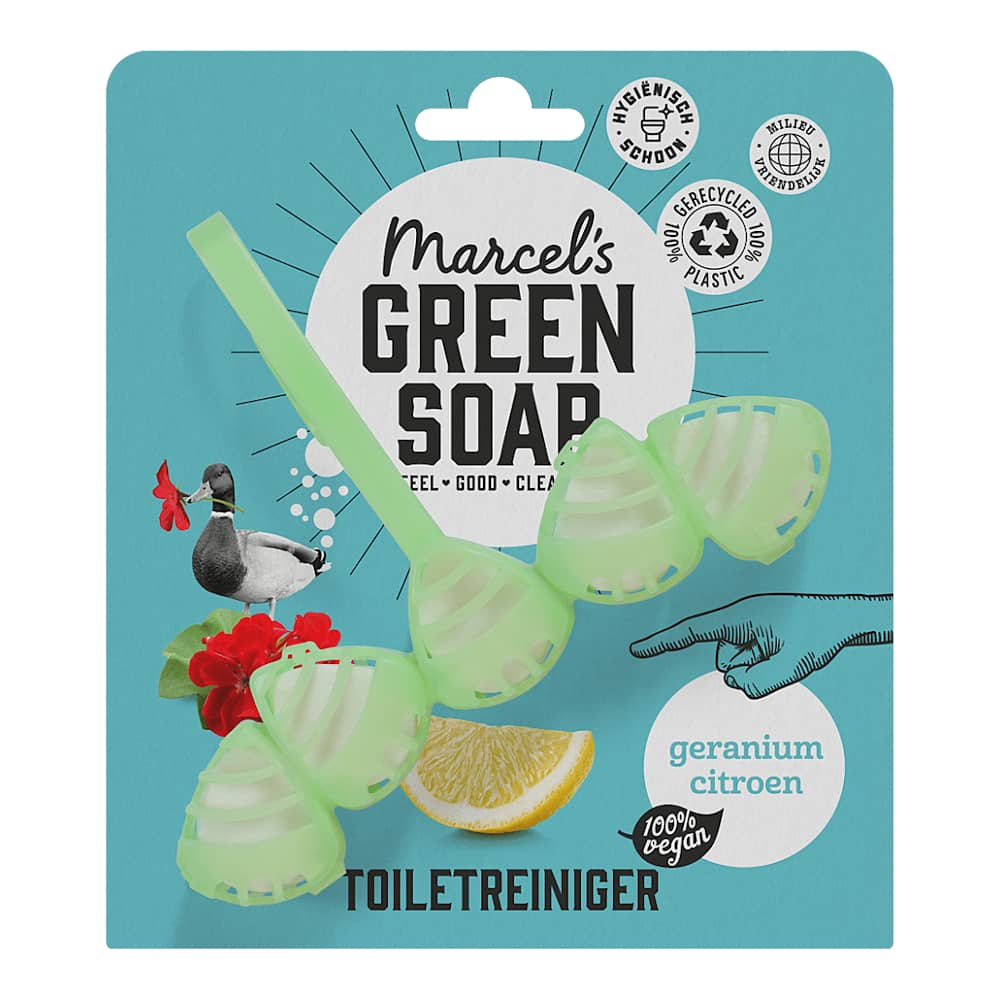 Marcels Green Soap Toiletblok Geranium & Citroen