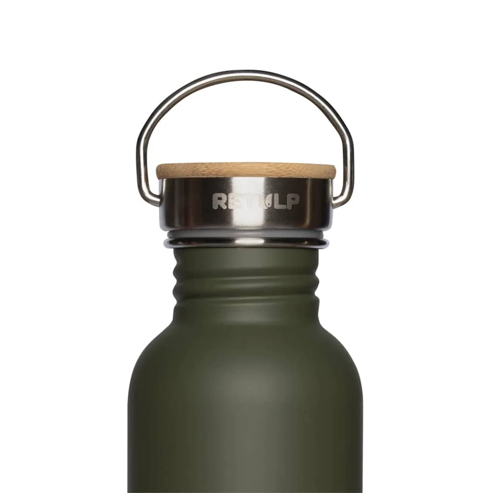 Retulp Urban Drinkfles 500 ml Forrest Green bovenkant